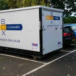 Mobile storage container AYR EUROBOX